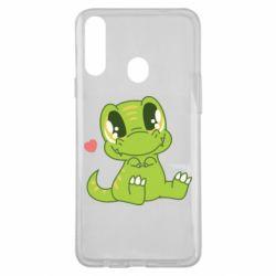 Чохол для Samsung A20s Cute dinosaur