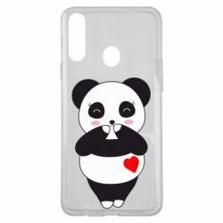 Чохол для Samsung A20s Cute panda