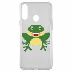Чехол для Samsung A20s Cute toad