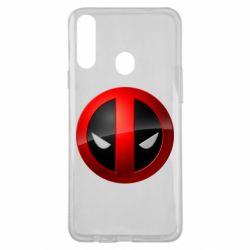 Чехол для Samsung A20s Deadpool Logo