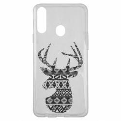 Чохол для Samsung A20s Deer from the patterns