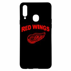 Чохол для Samsung A20s Detroit Red Wings