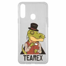 Чохол для Samsung A20s Dinosaur with tea
