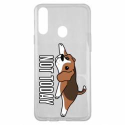 Чехол для Samsung A20s Dog not today