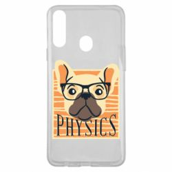 Чехол для Samsung A20s Dog Physicist