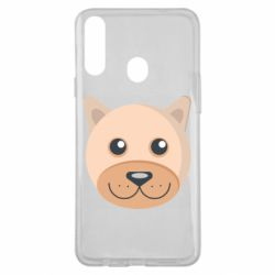 Чехол для Samsung A20s Dog with a smile