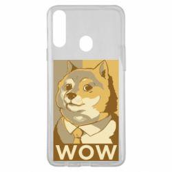 Чохол для Samsung A20s Doge wow meme