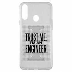 Чохол для Samsung A20s Довірся мені я інженер