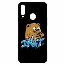 Чехол для Samsung A20s Drift Bear