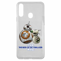 Чехол для Samsung A20s Droids BB 8 and  D O  star wars the rise of skywalker