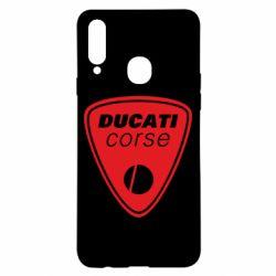 Чехол для Samsung A20s Ducati Corse