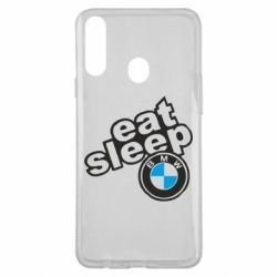 Чохол для Samsung A20s Eat, sleep, BMW