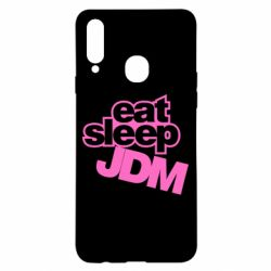 Чехол для Samsung A20s Eat sleep JDM