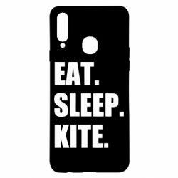 Чохол для Samsung A20s Eat, sleep, kite
