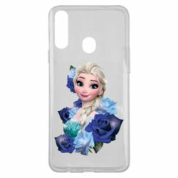 Чохол для Samsung A20s Elsa and roses