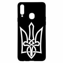 Чехол для Samsung A20s Emblem 22