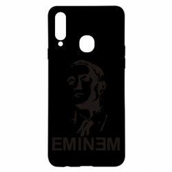 Чехол для Samsung A20s Eminem Logo