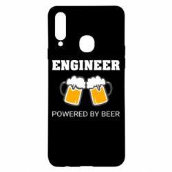 Чохол для Samsung A20s Engineer Powered By Beer