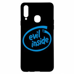 Чехол для Samsung A20s Evil Inside