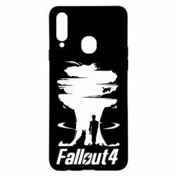 Чехол для Samsung A20s Fallout 4 Art
