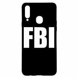 Чехол для Samsung A20s FBI (ФБР)