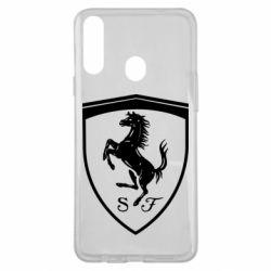Чохол для Samsung A20s Ferrari horse
