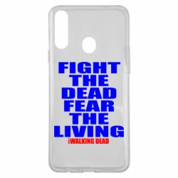 Чохол для Samsung A20s Fight the dead fear the living