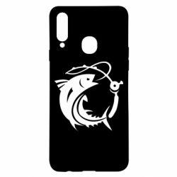 Чохол для Samsung A20s Fish on the hook