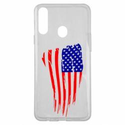 Чохол для Samsung A20s Прапор США