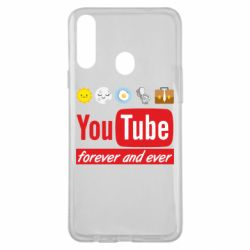 Чохол для Samsung A20s Forever and ever emoji's life youtube