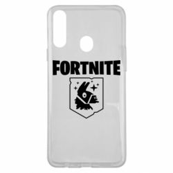 Чехол для Samsung A20s Fortnite and llama