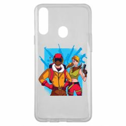 Чехол для Samsung A20s Fortnite art