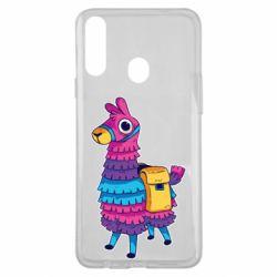 Чехол для Samsung A20s Fortnite colored llama