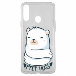 Чохол для Samsung A20s Free hugs bear