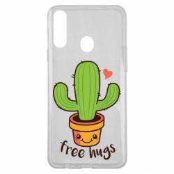 Чехол для Samsung A20s Free Hugs Cactus