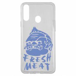 Чехол для Samsung A20s Fresh Meat Pudge