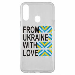 Чехол для Samsung A20s From Ukraine with Love (вишиванка)