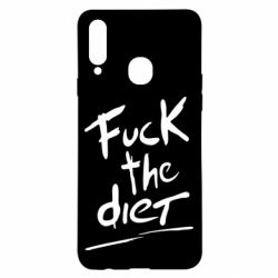 Чехол для Samsung A20s Fuck the diet