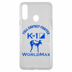 Чохол для Samsung A20s Full contact fighter K-1 Worldmax
