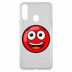 Чохол для Samsung A20s Funny Red Ball