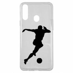 Чехол для Samsung A20s Футбол