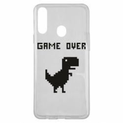 Чехол для Samsung A20s Game over dino from browser