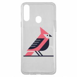 Чохол для Samsung A20s Geometric Bird
