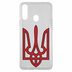 Чохол для Samsung A20s Герб України (двокольоровий)