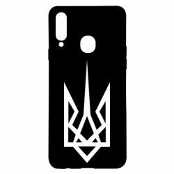 Чехол для Samsung A20s Герб України загострений