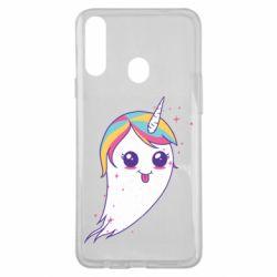Чохол для Samsung A20s Ghost Unicorn