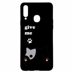 Чохол для Samsung A20s Give me cat