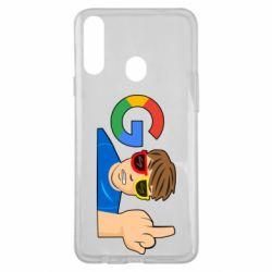 Чохол для Samsung A20s Google guy Fuck You