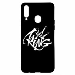 Чехол для Samsung A20s Graffiti king