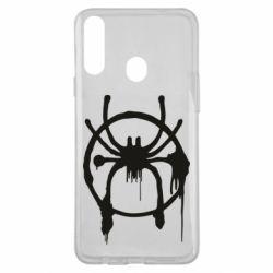 Чохол для Samsung A20s Graffiti Spider Man Logo